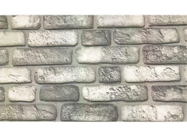 Wandpaneel Backstein grau L1903