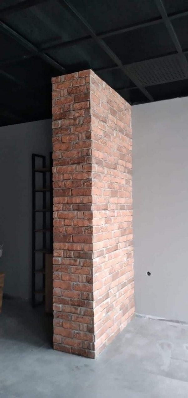 Wandpaneel Backstein Roter Klinker L1812
